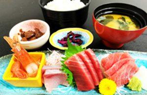 三崎の刺身 定食